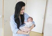 MATYLDA POCHOBRADSKÁ se narodila 3. února v 18 hodin a 47minut. Vážila 2970 gramů a měřila 47 centimetrů. Maminku Martinu podpořil u porodu tatínek Lubomír. Rodina bydlí v Lázních Bohdaneč.
