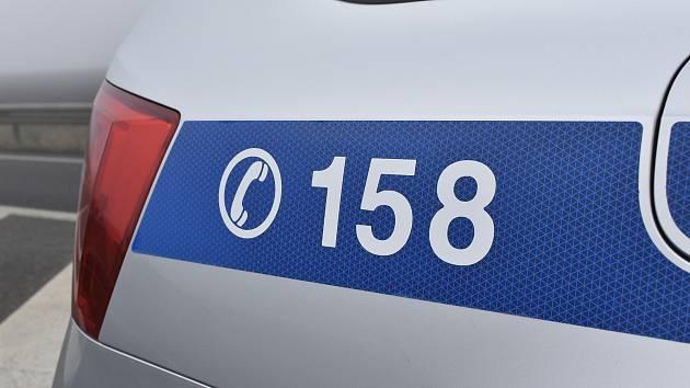 Policejní vůz - ilustrační foto.