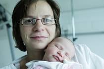 Libuše Malá z Němčic strávila Štědrý den místo domova v porodnici. Dceru Danielu na svět přivedla v jednu minutu po půlnoci..