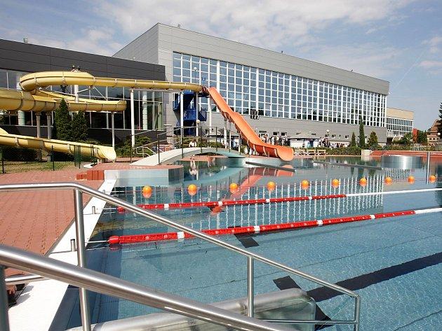 Pardubické Aquacentrum má za sebou slavnostní otevření