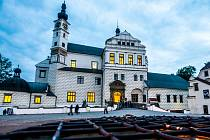 Zámek Pardubice. Východočeské muzeum i Východočeská galerie opět vítají návštěvníky.