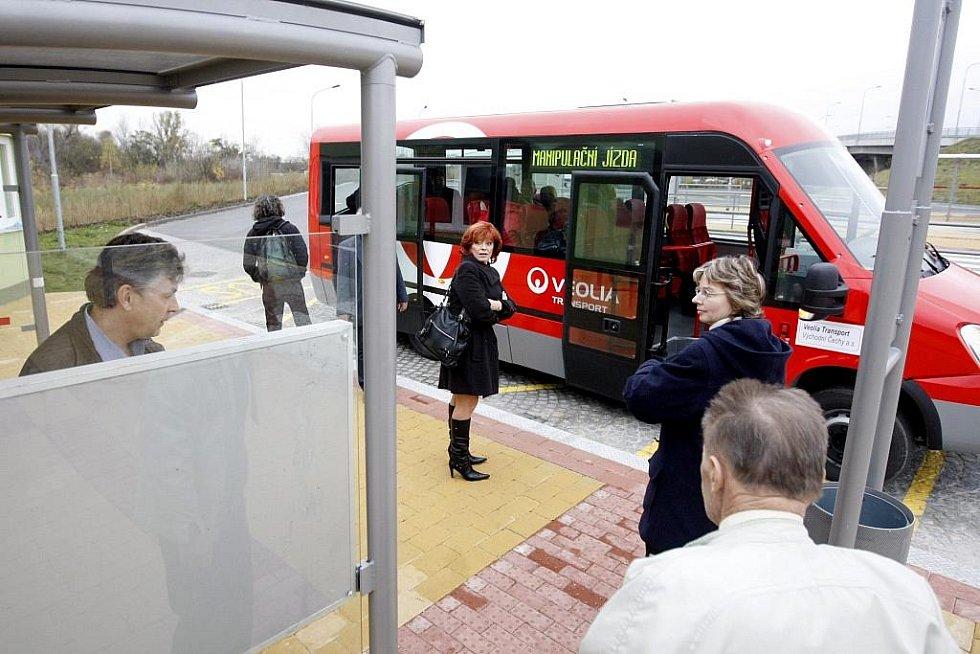 Minibusová linka. Ilustrační foto.i