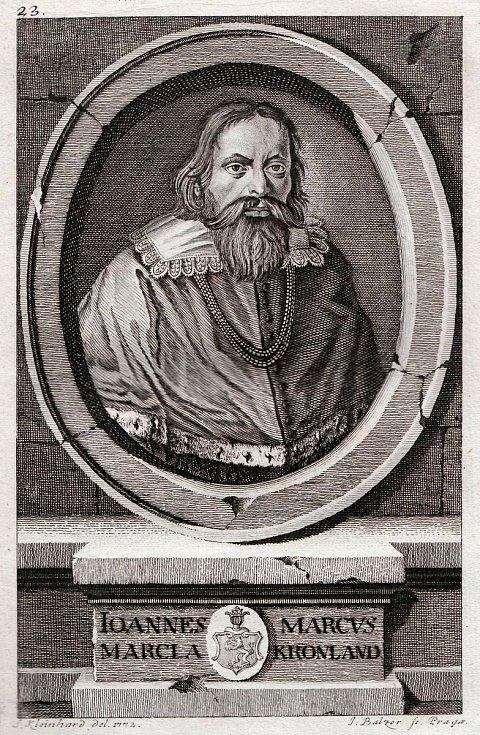 Jan Marcus Marci z Kronladu.