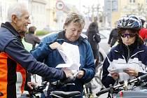 Prostudovat mapku a vyrazit. Letošní Cyklopaťák přilákal do Bohdanče přes tři stovky nadšenců  cykloturistiky.