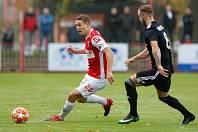 Fotbalová FORTUNA:NÁRODNÍ LIGA: FK Pardubice - FK Fotbal Třinec.