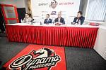 Tisková konference HC Dynamo v pardubické enteria areně