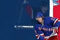Petr Průcha v dresu NY Rangers