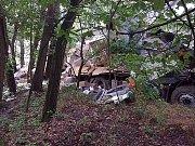 Vážná nehoda u obce Jaroslav.