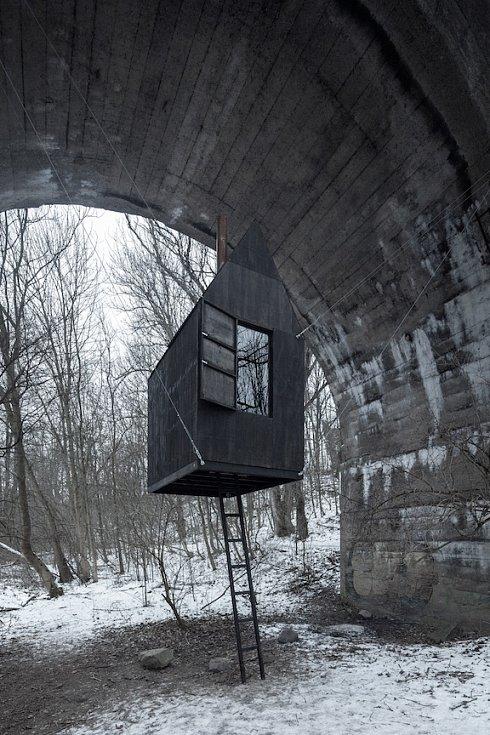 O cenu za architekturu soutěží Černý dům.