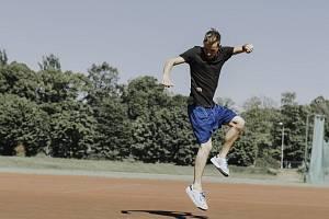 Dvojnásobný mistr světa ve footbagu Patrik Černý.