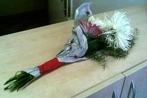 Dvaadvacetiletý pachatel, který ze hřbitova ukradl květinu v hodnotě několika desítek korun, byl nakonec protřelý delikvent. Mezi jeho nejdrzejší  kousky patřilo i odzbrojení policistů, a to při výslechu na policejní stanici.