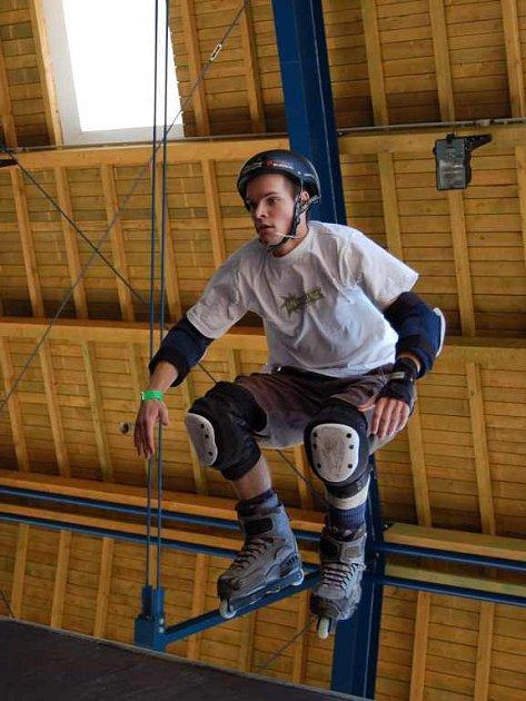 Mistrovství republiky v agresiv in-line v pardubickém skateparku