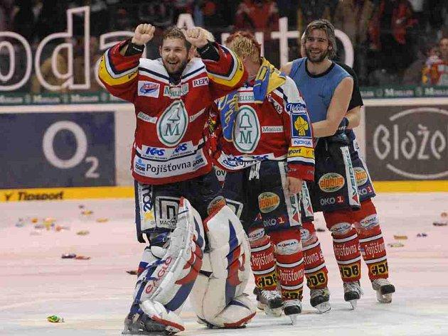 Pardubičtí hokejisté postoupili do finále!