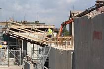 Takhle pokračuje rekonstrukce nadjezdu Kyjovská u nemocnice