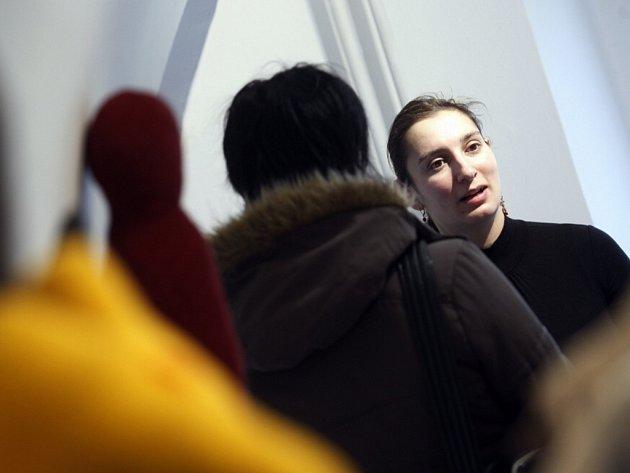 Petra Valentová vystavuje v galerii Mázhaus