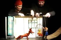 Začátek Grand Festivalu smíchu obstaralo Naivní divadlo Liberec s Budulínkem