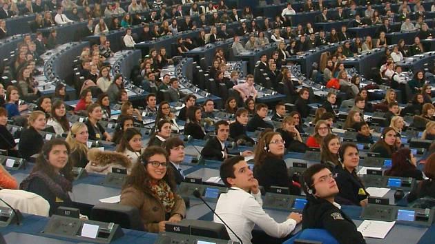 Gymnazisté z Jevíčka ve Štrasburku