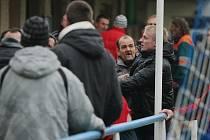 Utkání Moravan se Živanicemi se po skončení zvrhlo ve rvačku fanoušků obou týmů