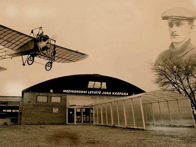 Letiště pojmenované po slavném aviatikovi? Co na to Jan Kašpar?