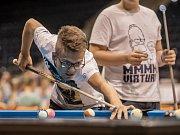 Billiardové mistrovství  v Pardubicích.