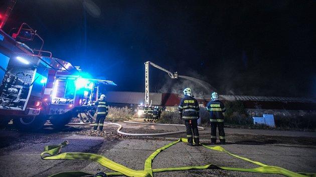 Požár v Rokytně