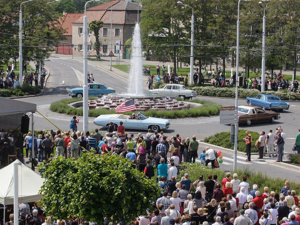 Otevírání lázeňské sezóny v areálu Lázní Bohdaneč.