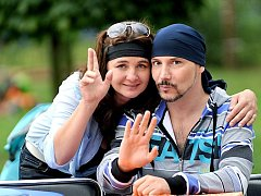 Loučení s prázdninami v Sezemicích se zúčastnil také zpěvák Bohuš Matuš.