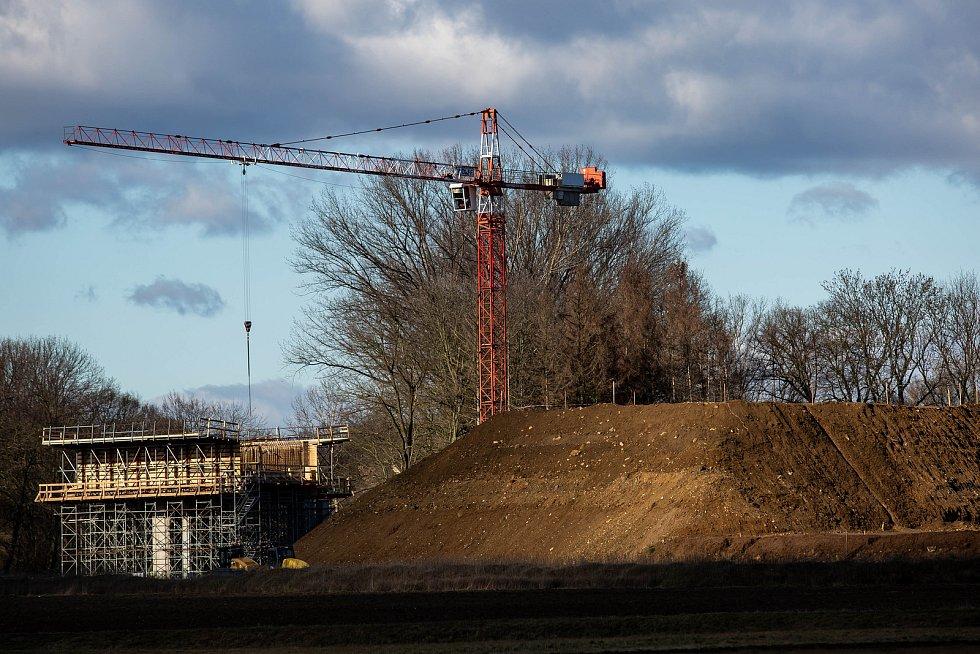 Stavba D35 u Bukoviny nad Labem