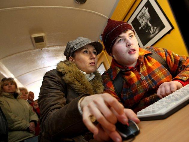 V Rosicích zastavil Net vlak