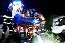 Tragický střet dvou vozidel u Čepí skončil smrtí jednoho z řidičů.