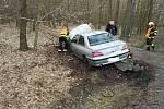 Mezi Býští a Hoděšovicemi došlo k dopravní nehodě.