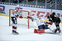Hokejová extraliga: HC Dynamo Pardubice- HC Verva Litvínov.