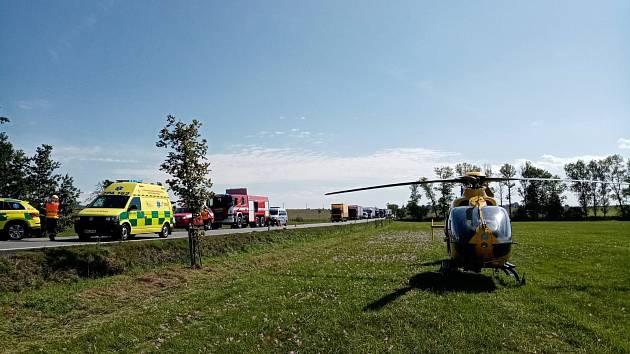 Smrtelná nehoda u Holic
