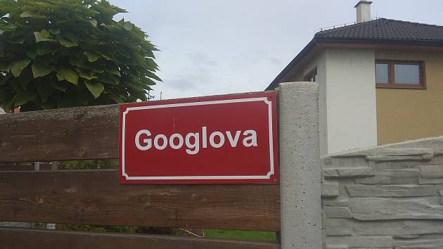 V Hradišti na Písku nese ulice jméno světoznámého vyhledávače. Zatím však jen neoficiálně.