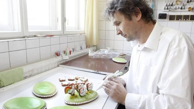 Perníkář Pavel Janoš