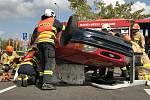 Soutěž hasičů ve vyprošťování