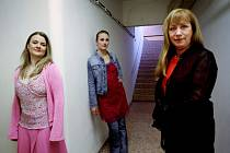 (zleva) Míša Sailerová , Anna Polívková , Dáša Bláhová