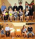 VE CHVOJENCI v sobotu 16. září přivítali nové občánky: tři holčičky (Nelu, Natálii, Johanku) a čtyři kluky (Josefa, Denise, Jakuba, Tomáše).