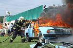 Oslavy stoletého výročí sboru dobrovolných hasičů v Rábech