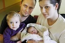 Lucie Bocánová se narodila 7. ledna v 8:14 hodin. Měřila 53 centimetrů a vážila 3770 gramů. Maminku Martinu u porodu podpořil tatínek Jozef a doma v Pardubicích má ještě dvouletou sestřičku Marianku.