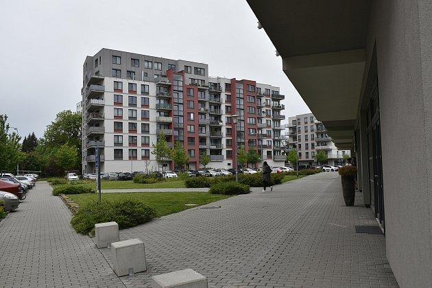Nové bytové domy vlokalitě UVinice.