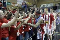 Kapitán pardubických basketbalistů RADEK NEČAS.