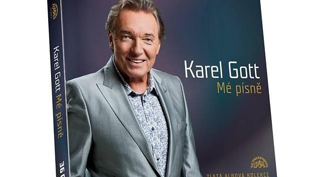 432 písní Karla Gotta v luxusním balení v limitované edici 3 333 kusů nabídne přes 25 hodin muziky