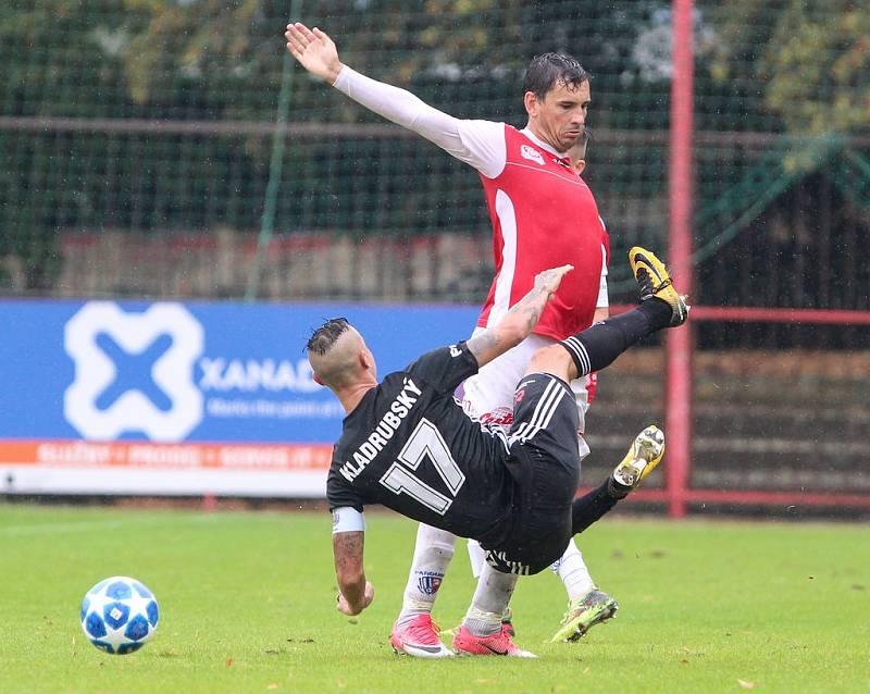 Pavel Černý teď střílí góly za Pardubice.