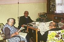 Společenská místnost domova.