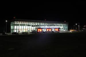 Terminál Jana Kašpara na letišti v Pardubicích