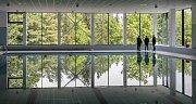 25metrový bazén v pardubickém Aquacentru.
