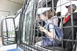 Vojáci 14. pluku logistické podpory na pardubickém letišti připravili speciální dětský den.