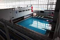 Skokanský bazén v Pardubicích