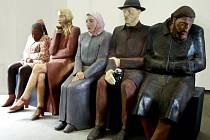 Figurální dílo Metro sochařky Ludmily Seefried-Matějkové.